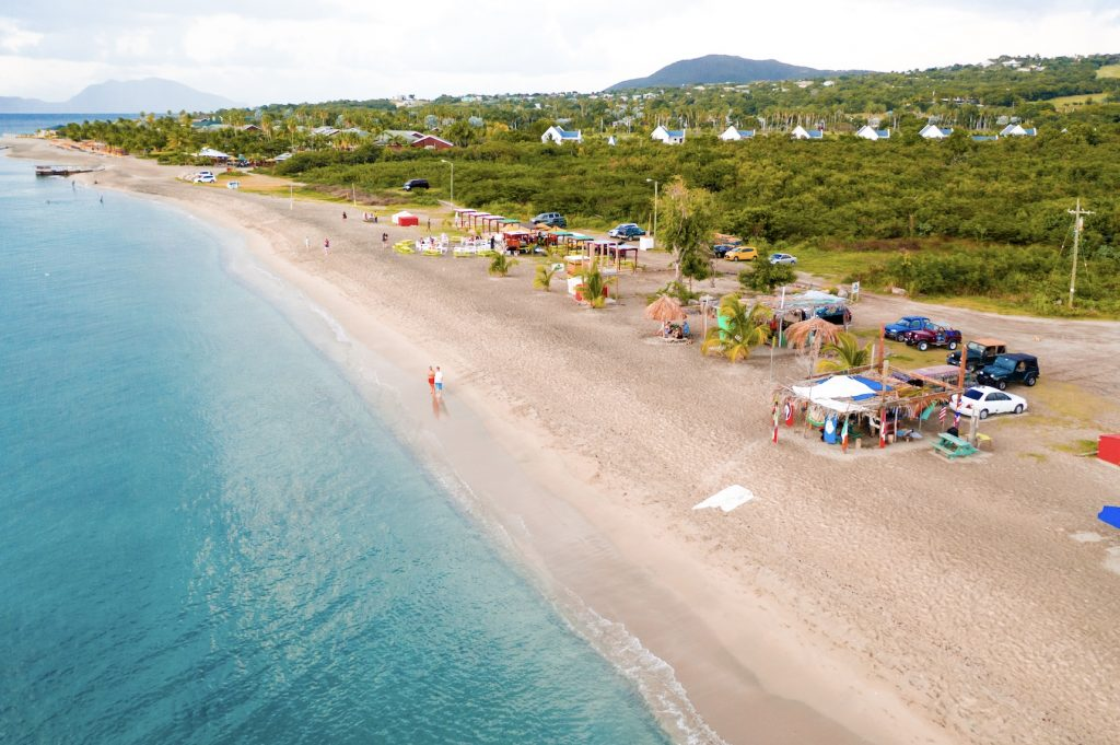 One of many pristine beaches on Nevis (photo provided)
