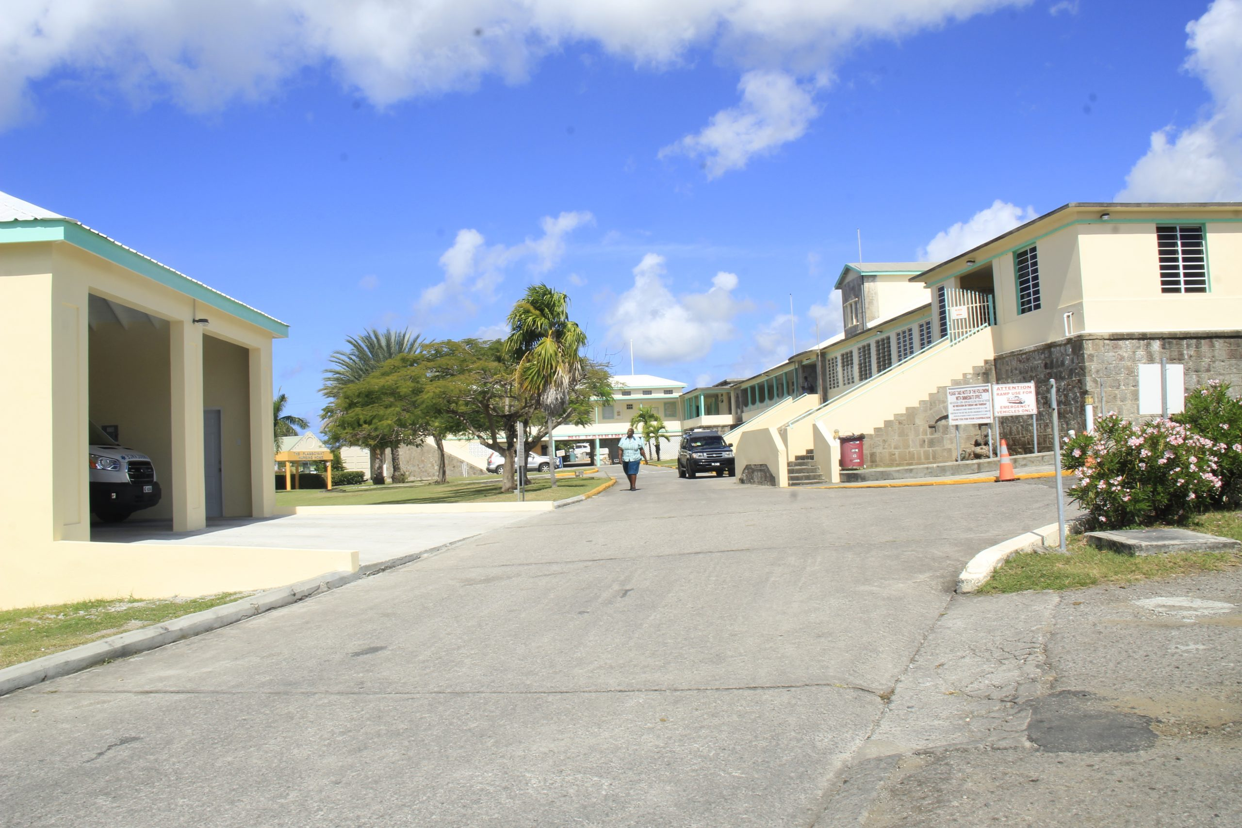 A section of the Alexandra Hospital compound on Government Road (file photo)