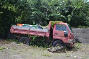 A derelict vehicle in Newcastle (file photo)
