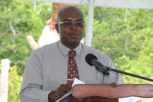 Dr. Ernie Stapleton, Permanent Secretary in the Ministry of Communications and Works and Water Services (file photo)