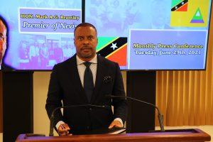 Hon. Mark Brantley, Premier of Nevis (file photo)