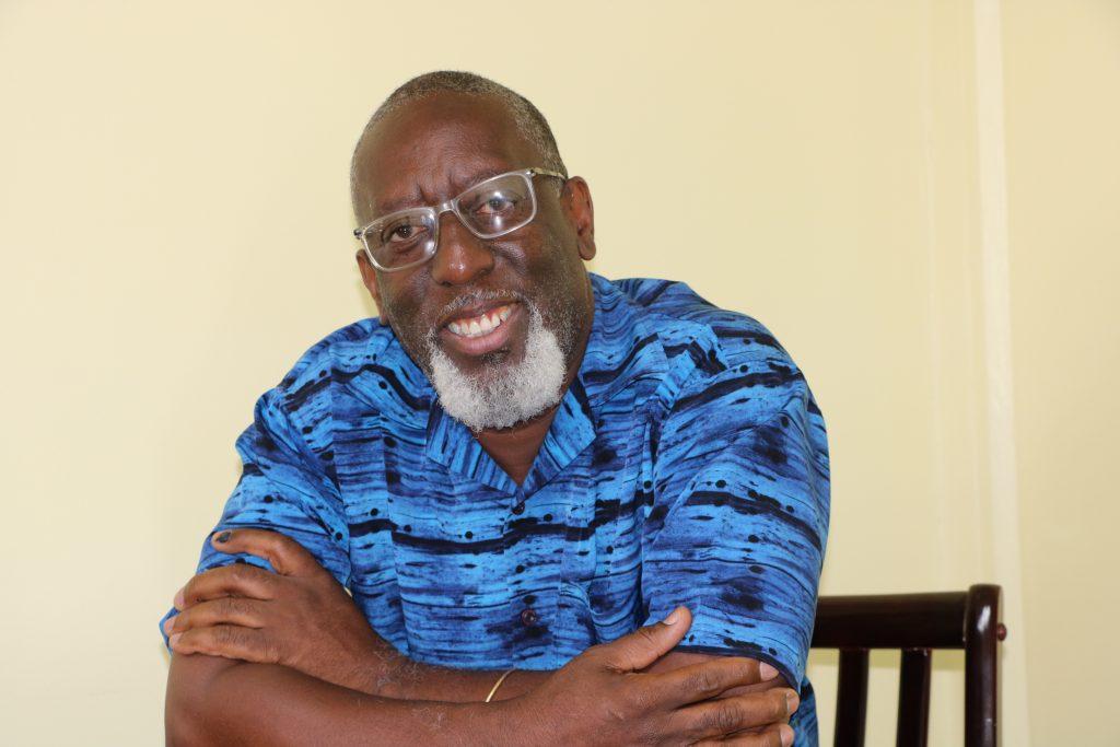Mr. Antonio Liburd, Executive Director of Culturama Secretariat and Chair of Nevis Culturama Committee