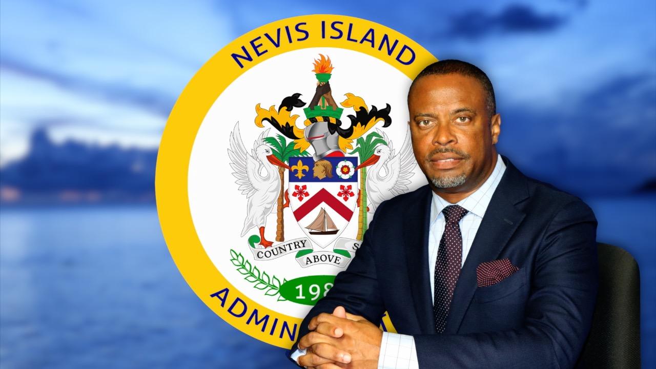 caption: Hon. Mark Brantley, Premier of Nevis