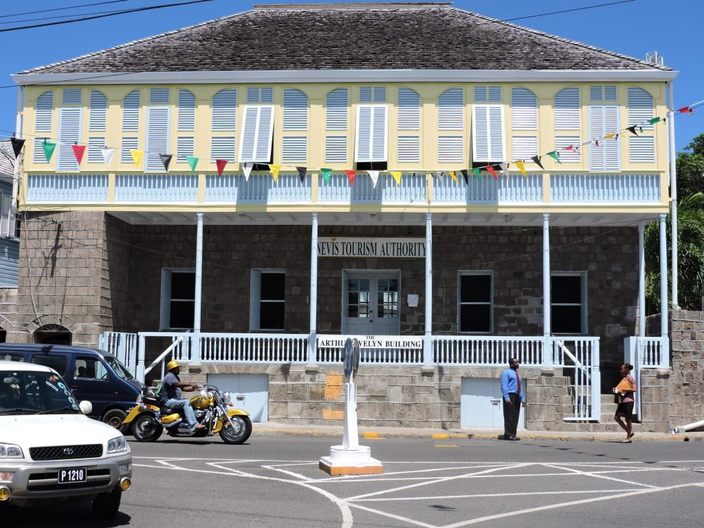 Nevis Tourism Authority's office in Charlestown