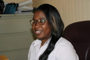 Ms. Tonya Bartlette, Manager of the Nevis Water Department (file photo)